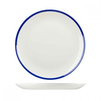 Picture of Churchill Retro Blue Round Coupe Plate 217mm