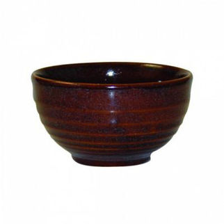 Picture of Churchill Ripple Bowl 130mm Cinnamon