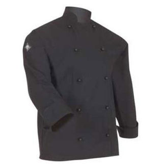 Picture of Classic Chefs Jacket Black Long Sleeves Large