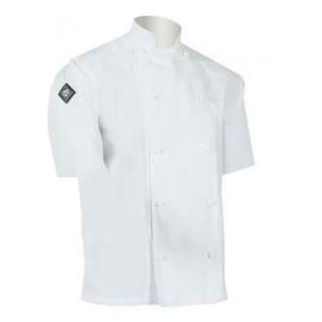 Picture of Classic Chefs Jacket White Short Sleeve Large