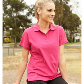 Picture of Classic Ladies Polo Size 12 Sandstone