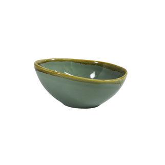 Picture of Coast Aqua Green Triangular Bowl 210mm