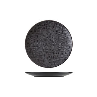 Picture of Cobble Round Coupe Plate Black Matte 210mm