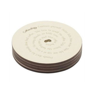 Picture of Coffeeology Coasters set of four