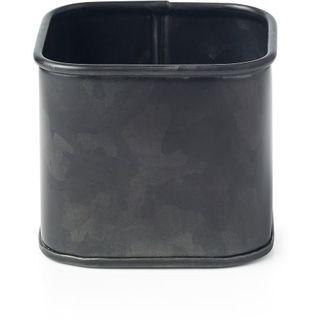 Picture of Coney Island Galvanised Black Sugar Sachet Cube 80x80x70mm