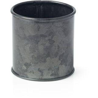 Picture of Coney Island Galvanised Black Sugar Sachet Pot 70x70mm