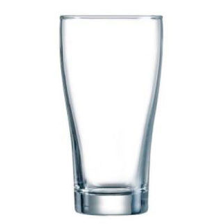 Picture of Conical Nucleated Beer Glass 285ml No Logo
