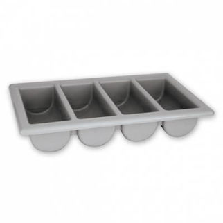 Picture of Cutlery Box 4 Compartment grey
