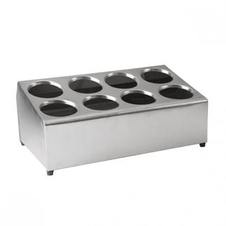 Picture of Cutlery Holder 18 8 Stainless Steel 8 hole