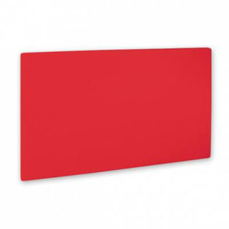 Picture of Cutting Board Pe Red 400x250