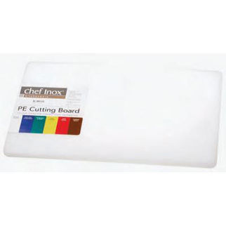 Picture of Cutting Board Pe White W Hdl Chef Inox no handle 610mm