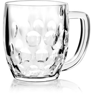 Picture of Dimple Beer Mug Schooner 425ml (Cert & Nucl)