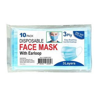 Picture of Disposable Face Mask 3ply (10 pack)