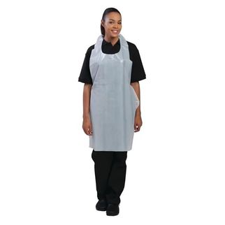 Picture of Disposable White Apron (pk 100)