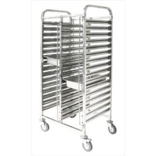 Picture of Double Gastronorm Trolley 740 x 550 x 1735mm