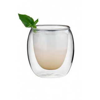 Picture of Double Wall Glass Rounded 250ml Pack Of 6