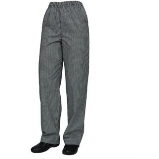 Picture of Drawstring Chef Pants with Traditional PolyCotton Check 2XLarge
