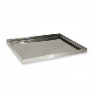 Picture of Drip Tray Stainless Steel 440x360x25mm To Suit 17x14 Glass Basket