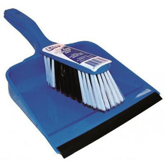 Picture of Dust Pan & Brush Blue