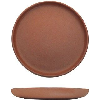 Picture of Eclipse Uno Round Plate 220mm Brown