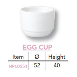 Picture of Egg Cup 40x52mm Maxim