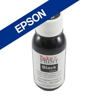 Picture of Epson Edible Ink Refill 100ml Black