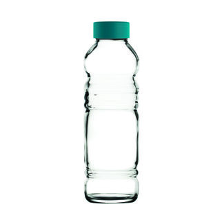 Picture of Vita Glass Water Bottle 550ml with lid