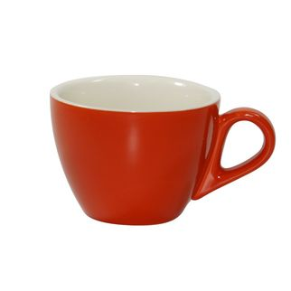 Picture of Brew Saffron and White Large Flat White Cup 220ml