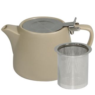 Picture of Brew Harvest Stackable Matt Teapot 600ml with SS Infuser and Lid