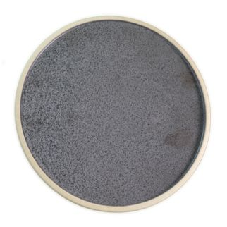 Picture of Tablekraft Soho Round Plate Speckle Black 200mm