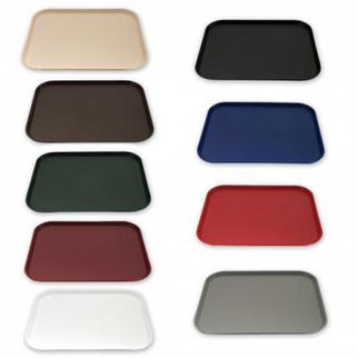 Picture of Fast Food Tray Plastic black
