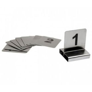 Picture of Flat Table Numbers 1-10