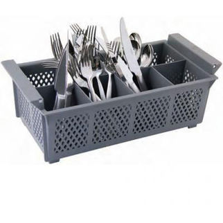 Picture of Flatware Basket Grey 8 Comps Unica