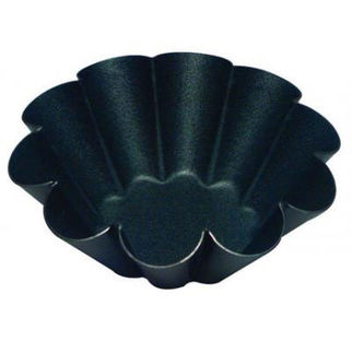 Picture of Fluted Brioche Mould 10 Ribs 75mm