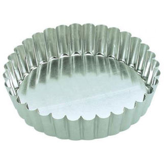 Picture of Fluted Cake Pan With Loose Base 100mm