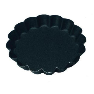 Picture of Fluted Tartlet Mould 16 Ribs Solid Base 100mm