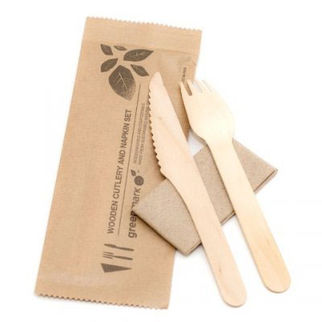 Picture of Fork Knife And Napkin Kit 400