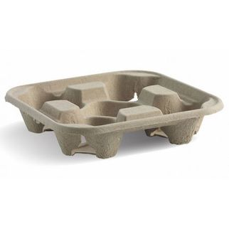Picture of Biocup Tray 4 Cup Holder ctn of 300