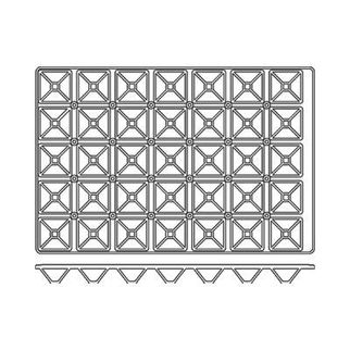 Picture of Frenti Pyramid Mould 35 Cup 35 Cup, 65 x 65 x 35