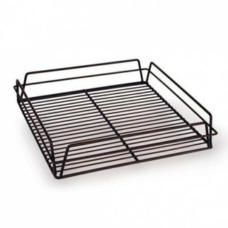 Picture of Glass Basket 355x355mm Pvc  Black Zinc Plated