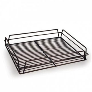 Picture of Glass Basket 435x355mm Pvc Black