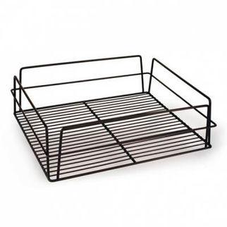 Picture of Glass Basket 435x355x125mm Pvc Black