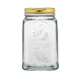 Picture of Glass Jar with Metal Lid 1000ml