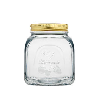 Picture of Glass Jar with Metal Lid 500ml