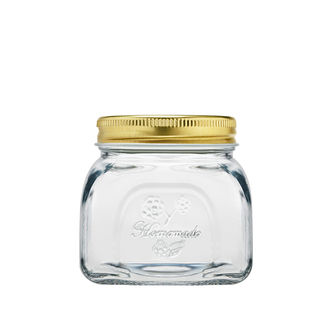 Picture of Glass Jar with Metal Lid 300ml