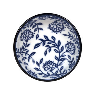 Picture of Gusta Out of the Blue Flowers Dish 90mm