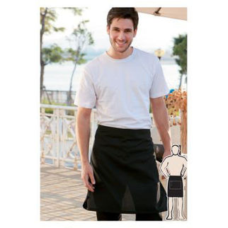 Picture of Half Apron With Pocket  Navy