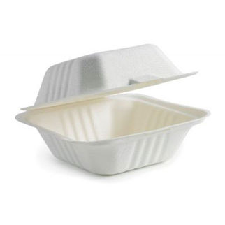 Picture of Hamburger Takeaway Clamshell  White