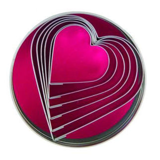 Picture of Heart Cutters 6pc 50-90mm