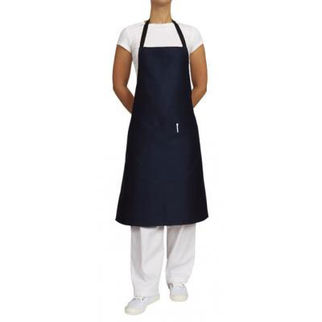 Picture of Heavy Weight Drill Apron With Pocket Navy Blue